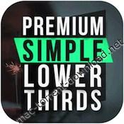 Premiumvfx simple lower thirds icon