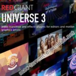 Red Giant Universe 3.0.2 for After Effects