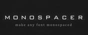 Plugin everything monospacer icon
