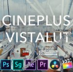CinePlus – VistaLUT for Final Cut Pro, Photoshop, After Effects, Premiere Pro and more (Win/Mac)