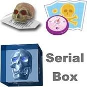 Serial box logo icon