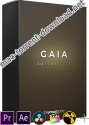 The preset factory gaia luts icon