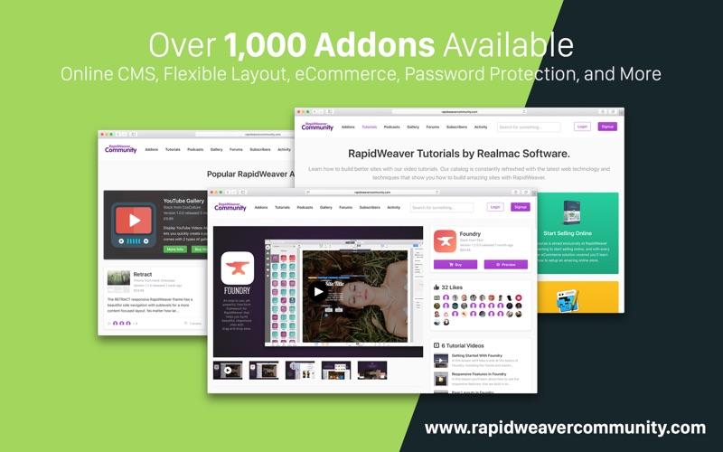 RapidWeaver 8 Screenshot 8