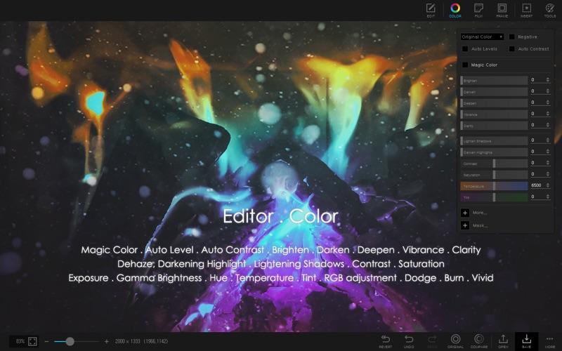 PhotoScape X - Photo Editor Screenshot 2