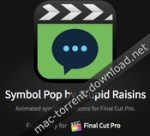 Stupid Raisins Symbol Pop 2.0.1 – Animated symbols and icons for Final Cut Pro X