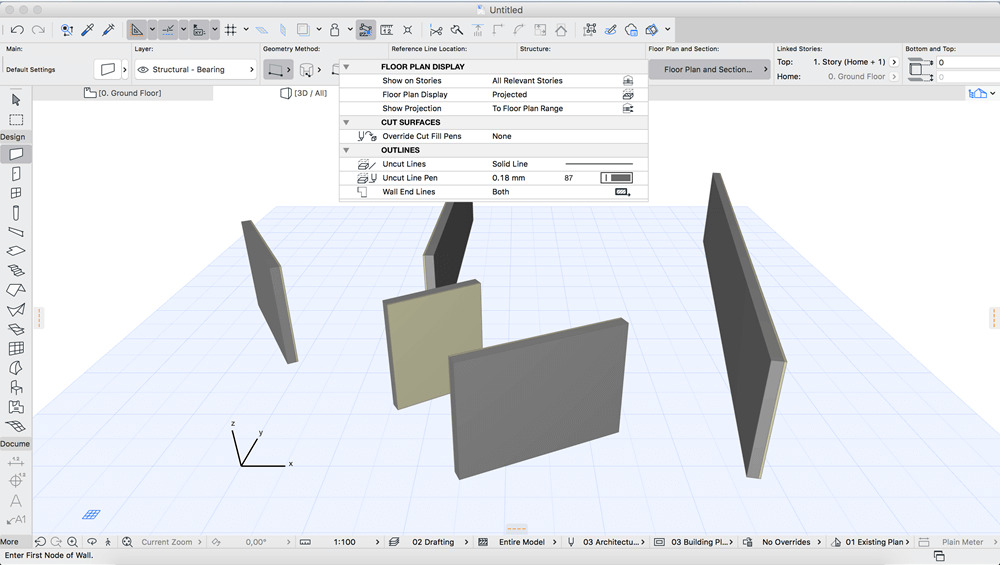 GRAPHISOFT ARCHICAD 23 Build 3003 Screenshot 01 1do8xpry
