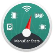 MenuBar Stats System Monitor Memory Clean Battery Health icon