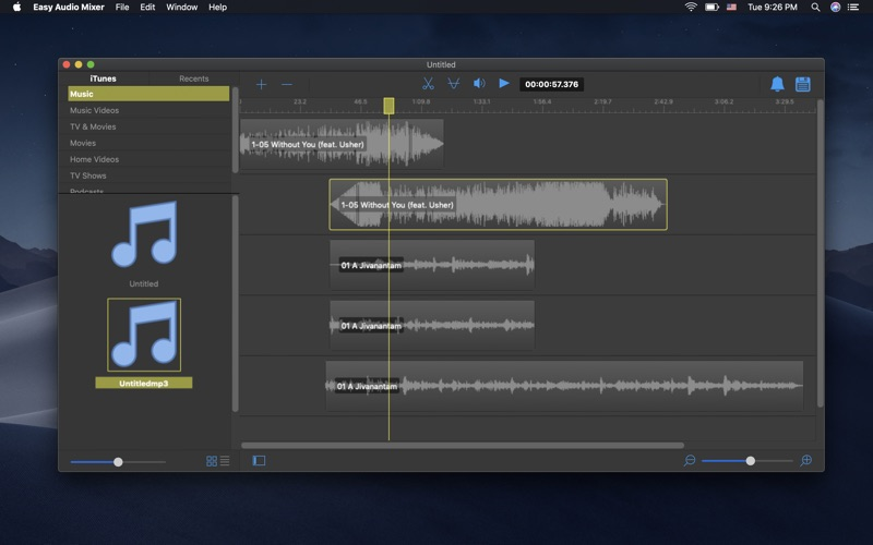 Easy Audio Mixer Screenshot 1