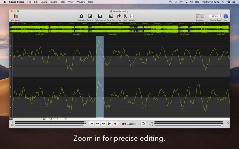 Sound Studio Screenshot 4