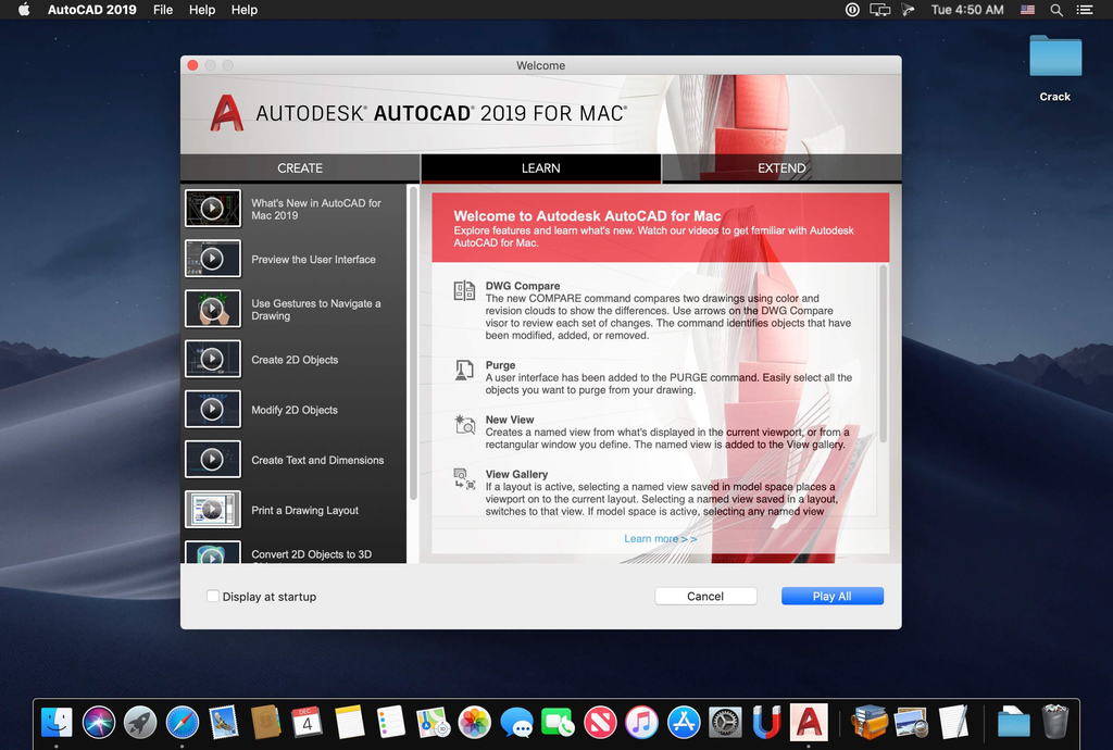 Autodesk AutoCAD 20191 Update Only Screenshot 01