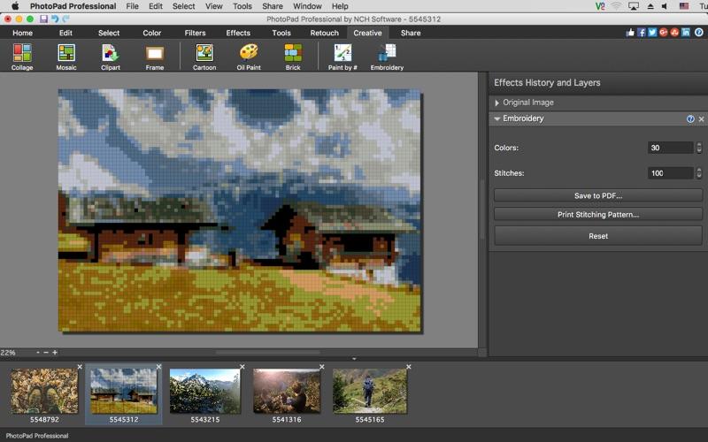 PhotoPad Professional Screenshot 05 obiib8n