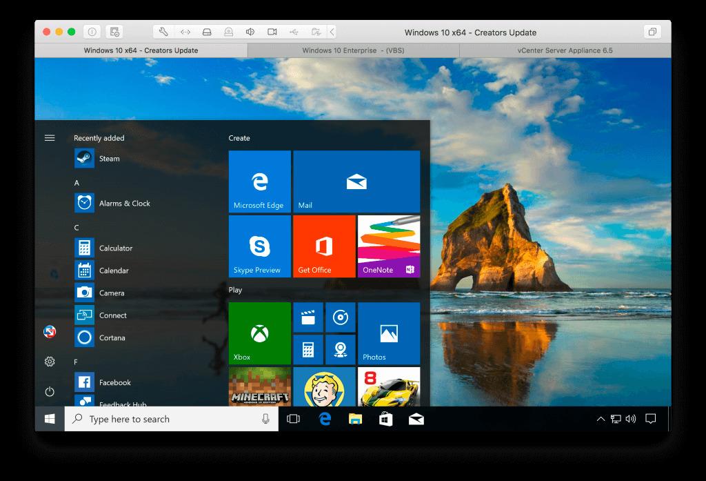 VMware Fusion Pro 1150 Build 14634996 Screenshot 01 dzysyfn