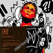 Adobe illustrator cc 2019 v23 icon