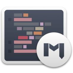 Mweb markdown writing note taking static blog generator app icon