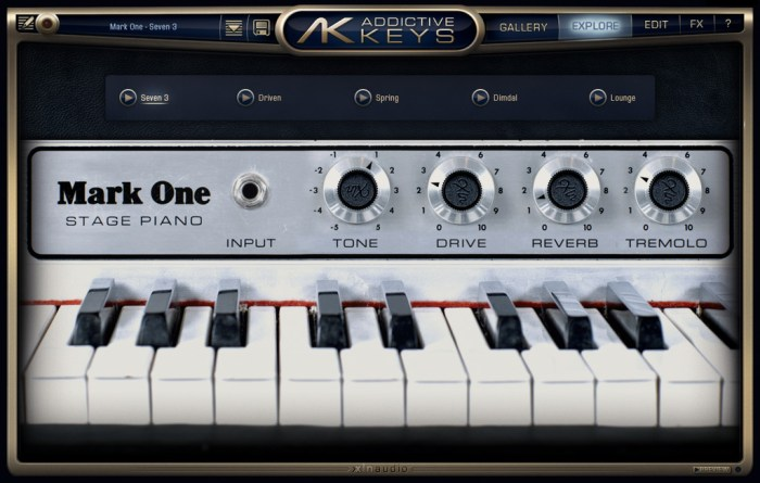 XLN Audio Addictive Keys Complete v118 Win Mac Screenshot 01 ikzch2n
