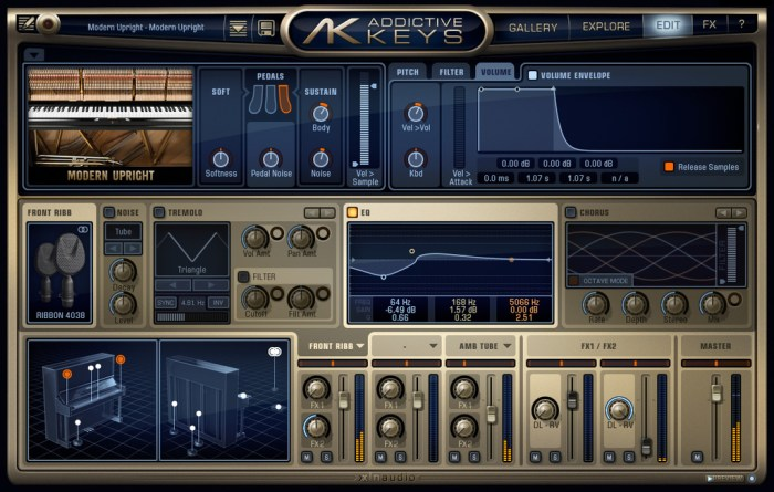 XLN Audio Addictive Keys Complete v118 Win Mac Screenshot 03 ikzch2n