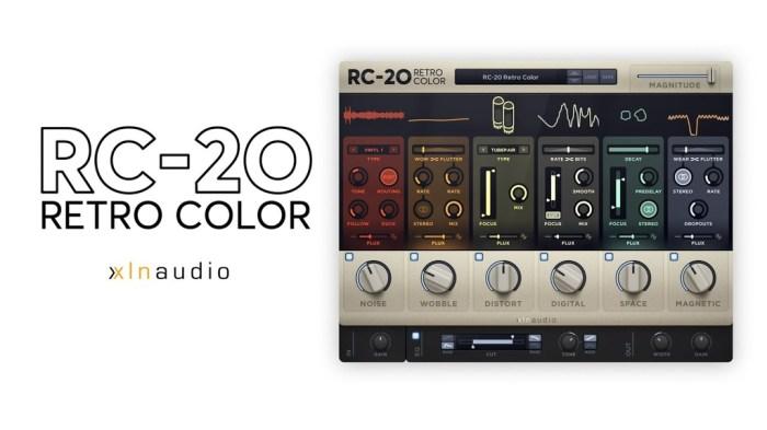 XLN Audio RC_20 Retro Color v105 Win Mac Screenshot 01 1q2k80iy