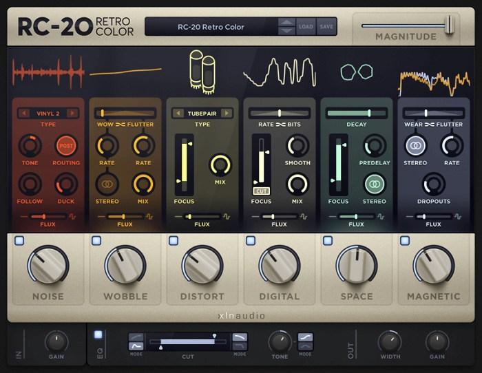 XLN Audio RC_20 Retro Color v105 Win Mac Screenshot 02 1q2k80iy
