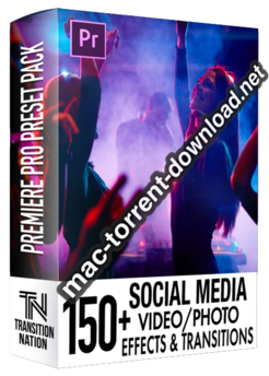 150 Social Media FX Pack for Adobe Premiere Pro icon