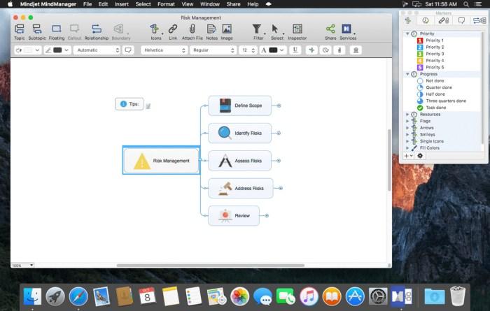 Mindjet MindManager for Mac 121190 Screenshot 03 15hd5d3n