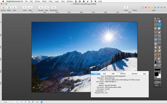 GraphicConverter 10 Screenshot 03 xwva9zn