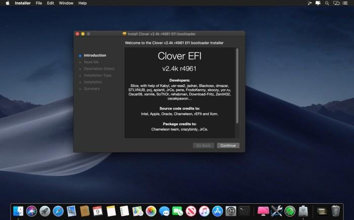 Clover EFI bootloader v25 r5091 Screenshot 01 16mnmhhn