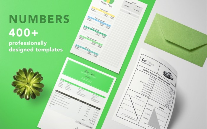 DesiGN for Numbers - Templates Screenshot 01 q4rd3my