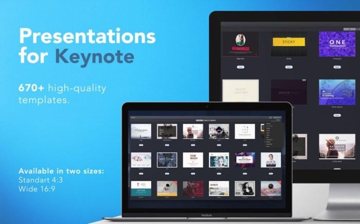 Templates for Keynote - DesiGN Screenshot 01 q4rd3my
