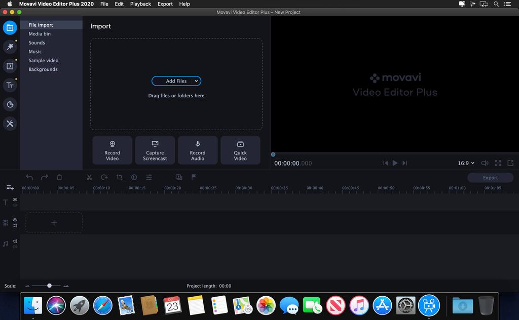 Movavi Video Editor Plus 2020 v2000 Screenshot 01 bn94ovy