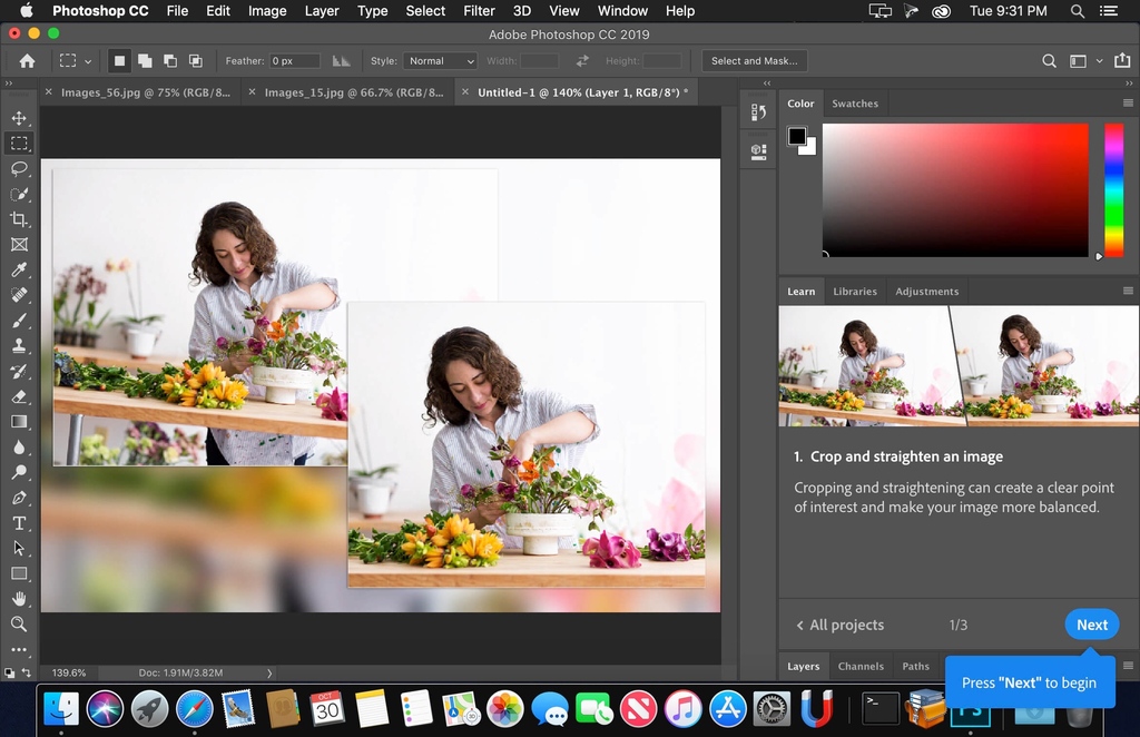 Adobe Photoshop CC 2018 v1919 Screenshot 02 m0rfnxy