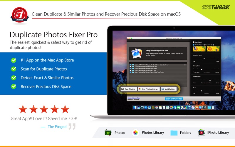Duplicate Photos Fixer Pro Screenshot 1 1810b9by