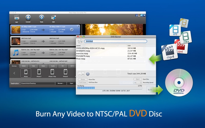 Total Video Converter Pro: DVD Screenshot 03 pekpy7y
