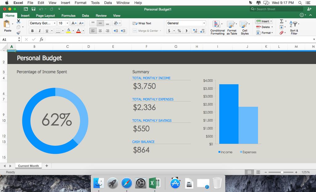 Microsoft Office 2019 for Mac 1629 VL Multilingual Screenshot 01 cz410cy