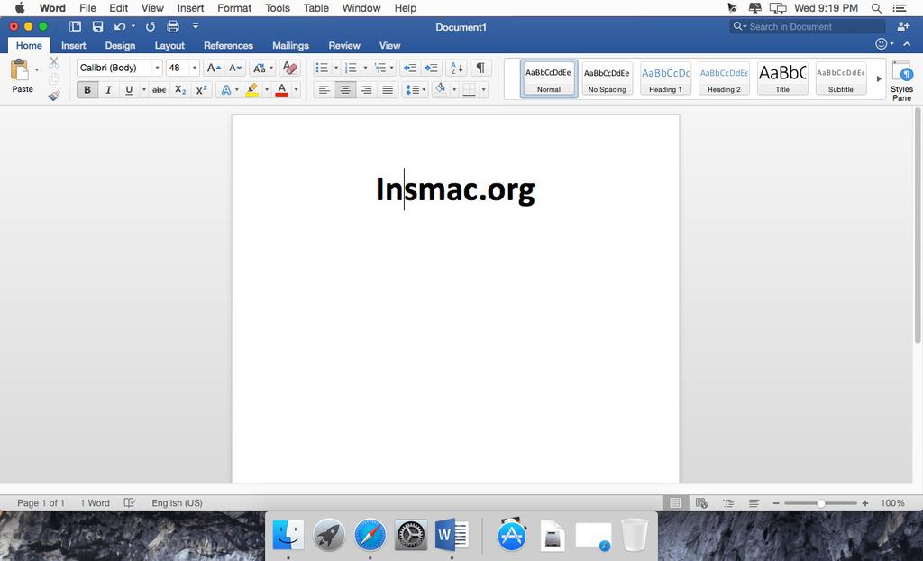 Microsoft Office 2019 for Mac 1629 VL Multilingual Screenshot 03 cz410cy