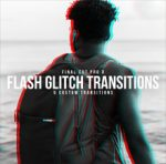 Glitch Flash Transitions Pack
