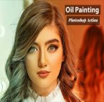 Oil Painting Photoshop Action – 4825796