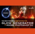 Oniric Glow Generator for Photoshop