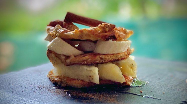 Mes Pancakes aux Céréales Complètes et 4 Noix Ananas Banane