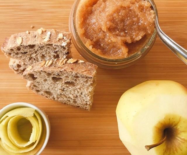 Confiture de peau de butternut et pommes