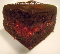 Gteau (danniversaire) chocolat & framboise