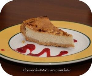 Cheesecake ricotta sans Gluten