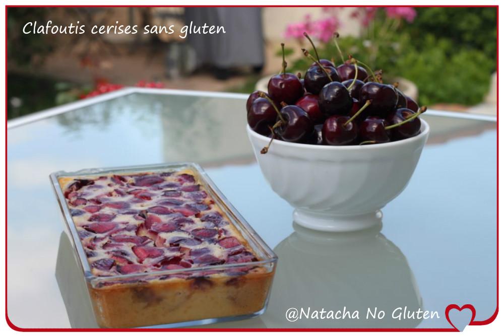 Clafoutis sans gluten cerises