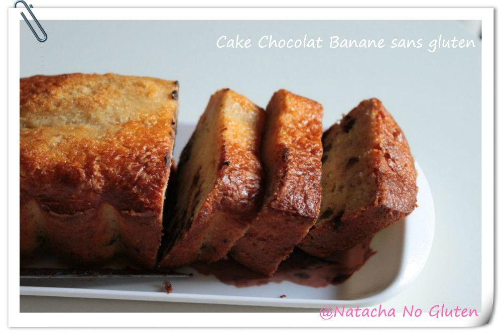 Cake bananes pépites de chocolat amande sans gluten