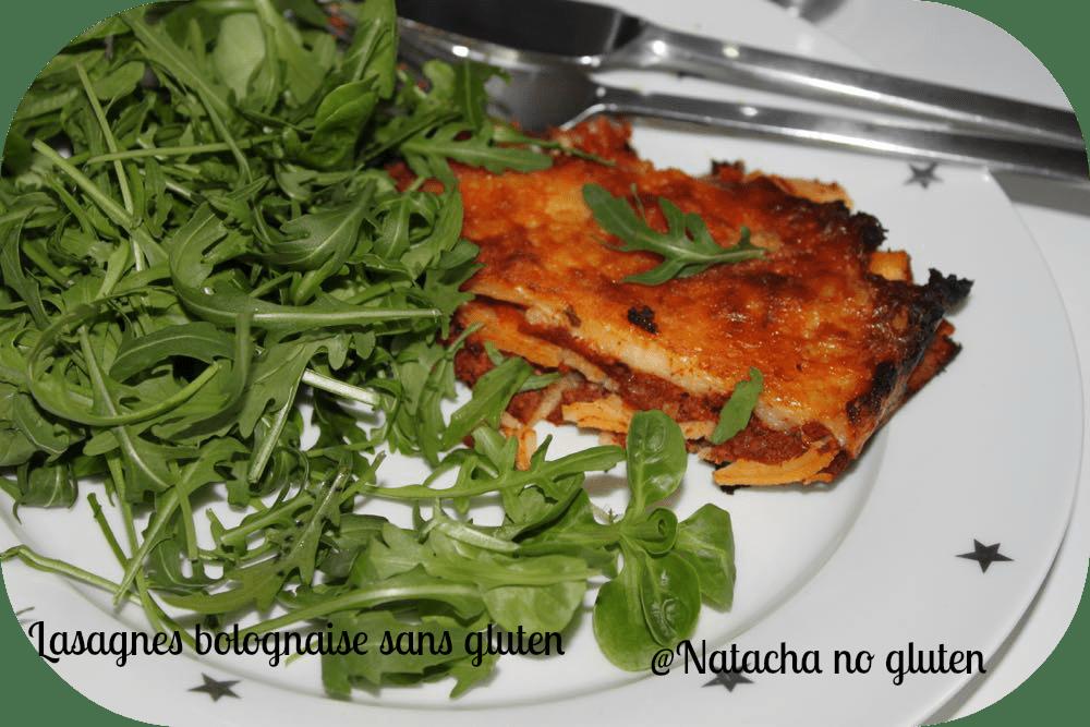 Lasagnes Bolognaises Sans Gluten
