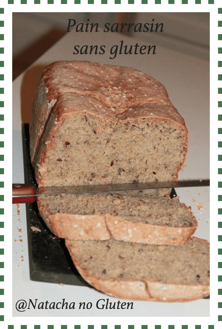 pain sarrasin graines nutribread