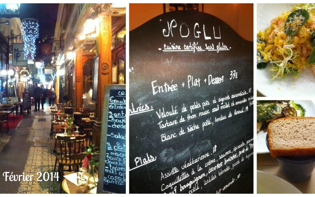 J'ai diné au restaurant No Glu à Paris