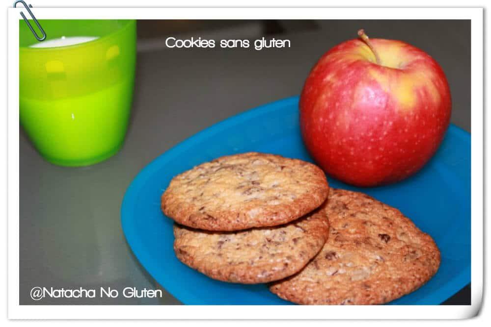 Cookies pépites de chocolat sans gluten