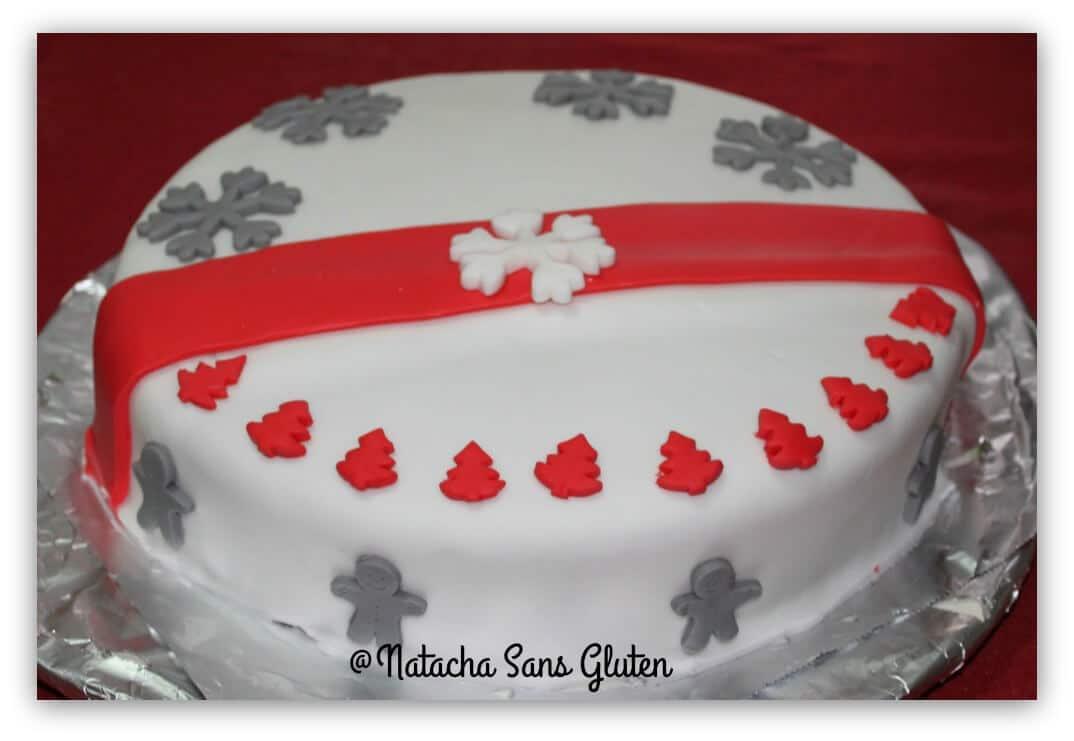 Gâteau de fête sans gluten