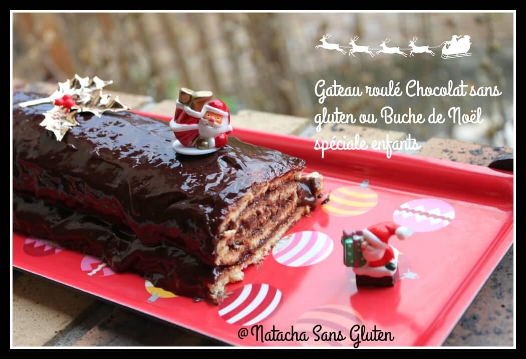 Gateau Roule Chocolat Sans Gluten Ma Cuisine Sans Gluten