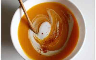Velouté Corail Patate douce et Carottes sans gluten